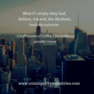 What if I simply obey God, believe, risk and like AbIt doesn't have to be.